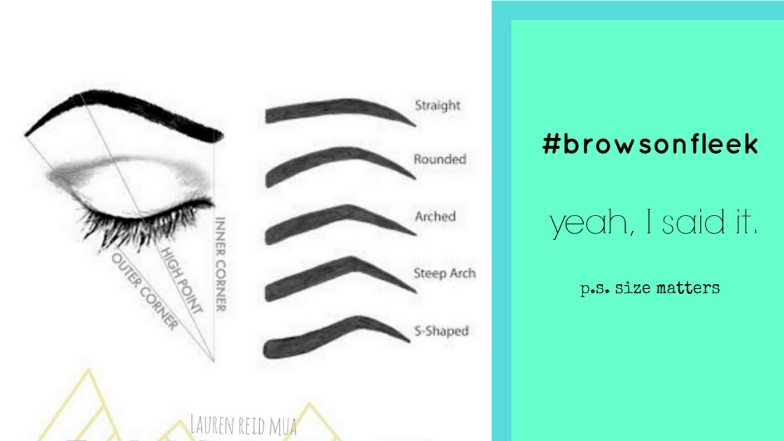 best eyebrow shapes