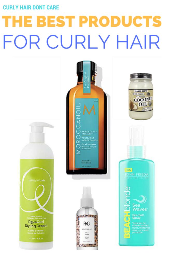 best products for curly hair lauren reid makeup artist