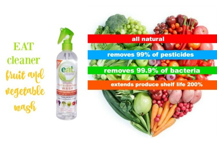 eat cleaner fruit and veggie wash